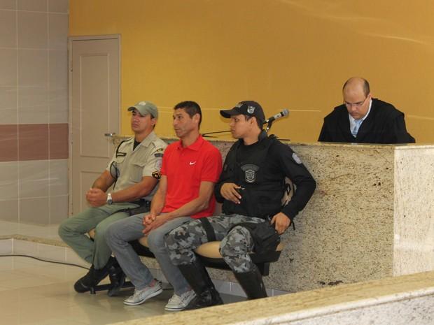 José Luiz da Silva Irmão que matou Rosilene Rio na Univasf (Foto: Amanda Franco/ G1)