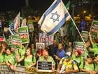 Israelenses vão às ruas pedir acordo de paz com palestinos