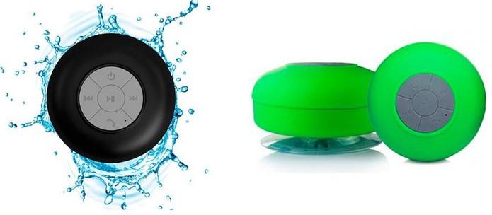 Modelo de caixa de som é resistente à água (Foto: Divulgação/Madake)