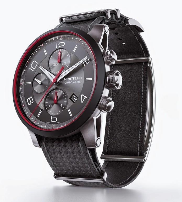 Relógio com e-Strap, da coleção Montblanc Timewalker Urban Speed (Foto: Divulgação)