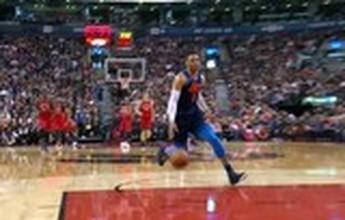 Westbrook endiabrado, Harden decisivo e domínio das enterradas no Top 5 do domingo de NBA