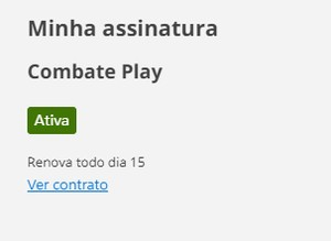 Contrato Combate Play (Foto: Combate Play)