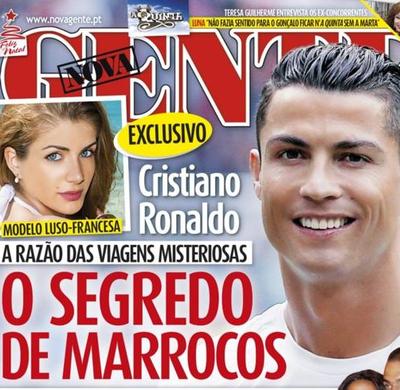 Cristiano Ronaldo capa revista portuguesa (Foto: Reprodução)