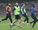 Empolgado,  Rooney participa de treino no Manchester United após polêmica