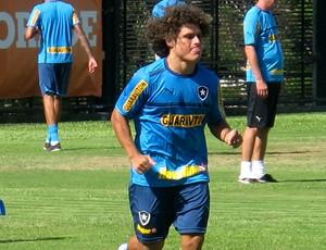 marcio azevedo botafogo treino (Foto: Thales Soares / Globoesporte.com)