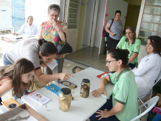 Atividade foi realizada na Unidade Básica de Saúde (UBS) da Vila Haro (Foto: Assis Cavalcante)