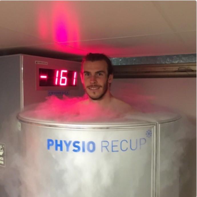 BLOG: Numa fria! Bale faz tratamento em câmara com - 161 graus para enfrentar a Rússia