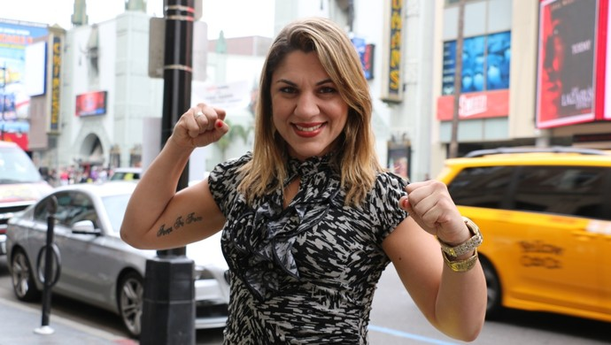 Bethe Correia Hollywood MMA UFC (Foto: Evelyn Rodrigues)