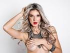 Ex-BBB Tatiele Polyana faz topless e fala sobre sexo em revista