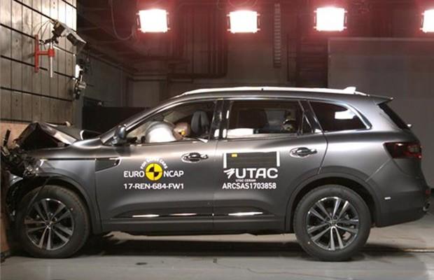 Renault Koleos também foi bem avaliado pelo Euro NCAP (Foto: Divulgação)