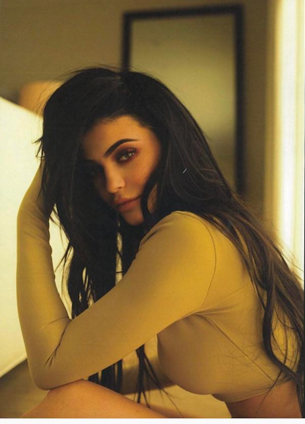 A imagem compartilhada por Kylie Jenner (Foto: Instagram)