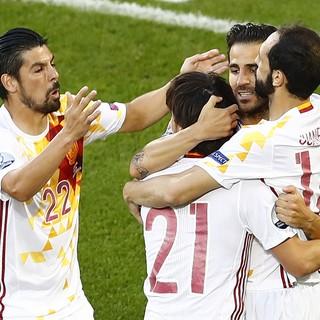 Espanha Eurocopa croácia gol (Foto: Regis Duvignau / Reuters)