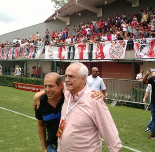 Carlos Augusto de Barros e Silva, Leco, presidente, São Paulo, Cotia, base (Foto: Emilio Botta)