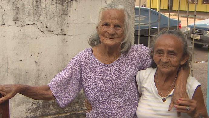 Vovó Iaia, atleta amapaense de 105 anos (Foto: Reprodução/TV Amapá)