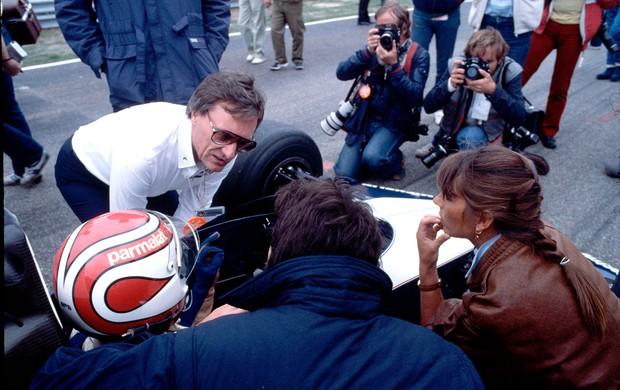 Bernie Ecclestone nelson piquet Brabham 1983 (Foto: Agência Getty Images)