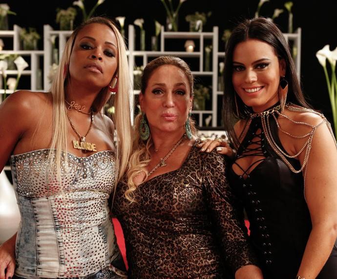 Que trio!! Roberta Rodrigues, Susana Vieira e Letícia Lima posam poderosas (Foto: Ellen Soares/Gshow)