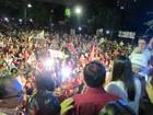 Mais de quatro mil pessoas festejam vitória de Wellington Dias, do PT