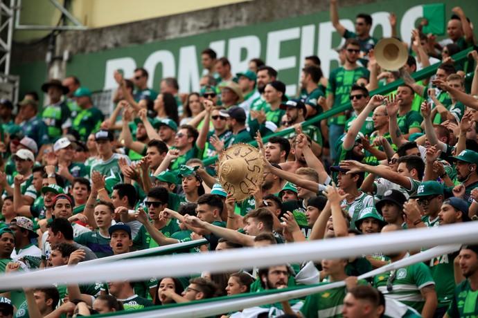 Torcida Chapecoense Arena Condá (Foto: Sirli Freitas/Chapecoense)
