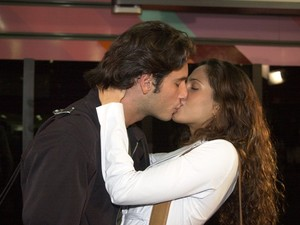 Santoro em 'Mulheres Apaixonadas' (Foto:  Gianne Carvalho / TV Globo)