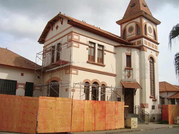 Revitalização Museu da Loucura Barbacena 1 (Foto: Museu da Loucura/Arquivo)