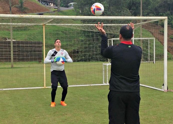 Gatito Fernandez; Vitória; treino (Foto: Divulgação/E.C. Vitória)