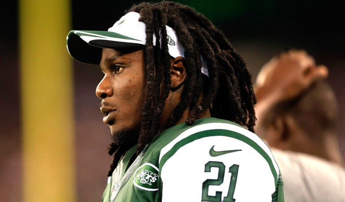 Chris Johnson new york jets (Foto: Getty Images)