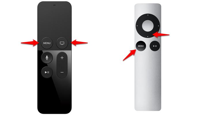 Comandos para reiniciar Apple TV pelo controle remoto. (Foto: Reprodução/Apple)