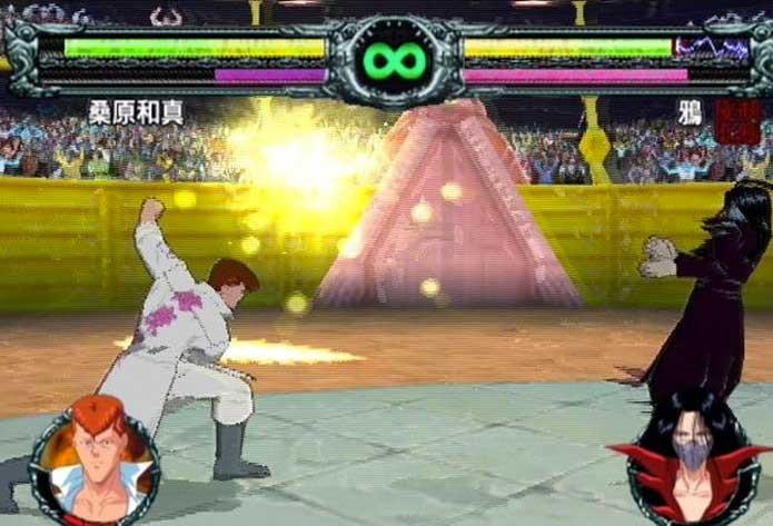 Após fracasso, Yu Yu Hakusho teve novo game no PS2 (Foto: Reprodução/PS2 Hype)