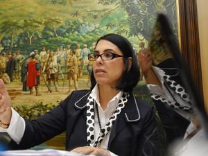 Justiça determina o bloqueio dos bens da prefeita de Cubatão, SP (Foto: Raimundo Rosa / A Tribuna de Santos)