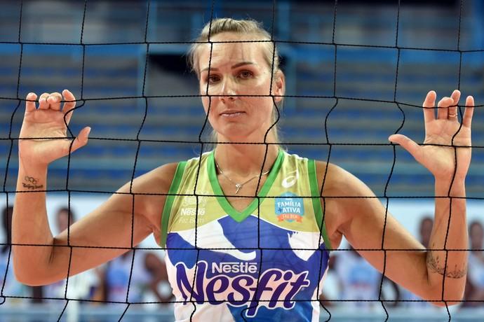 Carol Albuquerque Osasco vôlei (Foto: João Pires/Fotojump)