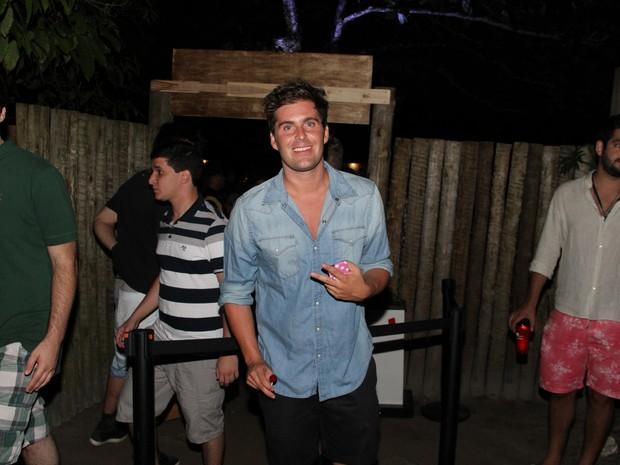 Thiago Gagliasso em festa em Trancoso, na Bahia (Foto: Gabriel Rangel/ Ag. News)