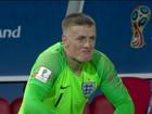 Com o pior ataque, Suécia enfrenta Inglaterra e seu jovem goleiro