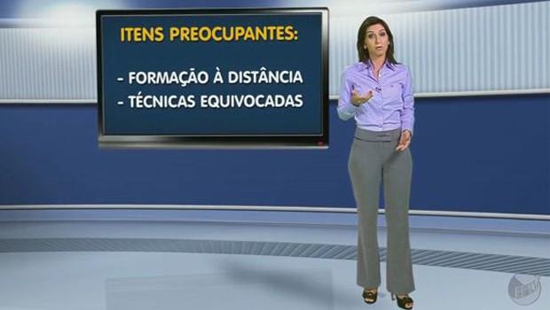 Técnicas ajudam na transição de cargos na empresa  (Foto: Reprodução EPTV)
