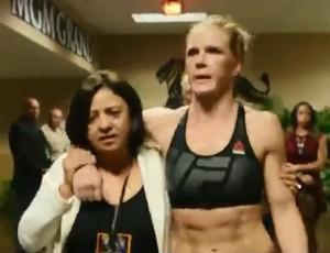 BLOG: Bastidores do UFC 196: veja choro de Holm e de namorada de McGregor