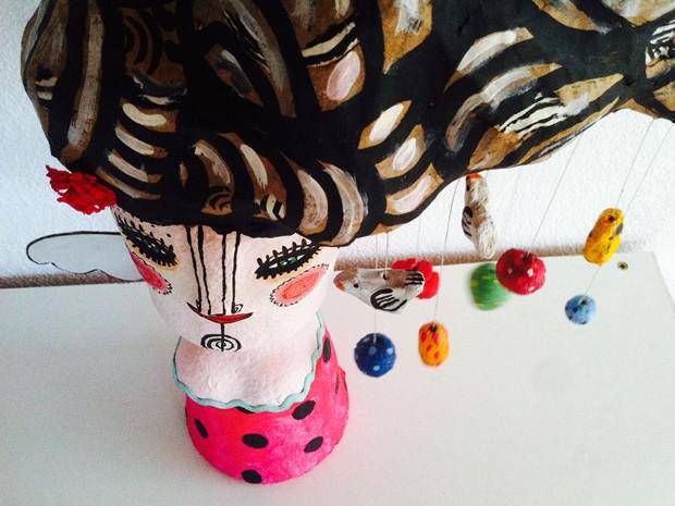 Trabalho da artista plástica Ana Cristina Maciel, moradora de Piraí, faz parte de mostra no Museu de Arte Moderna de Resende (Foto: Divulgação/MAM/Prefeitura Resende)