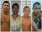 4 presos de fuga em massa são capturados (Divulgação/ Secom)