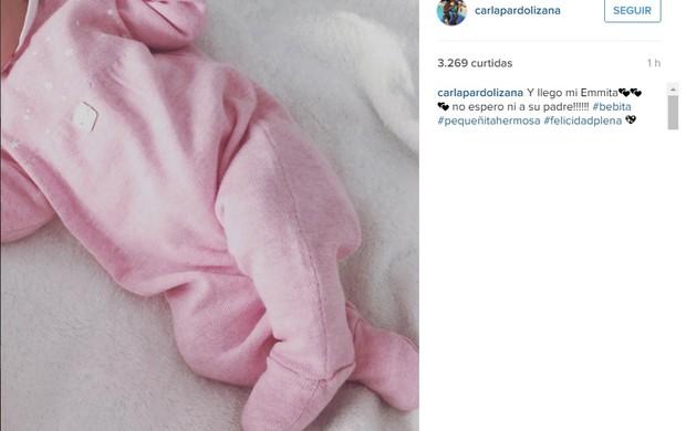 Nasce a quarta filha de Claudio Bravo