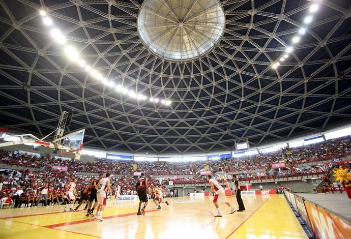 Ginásio Paulo Sarasate será o palco da sexta edição do Jogo das Estrelas do NBB (Foto: LC Moreira/Divulgação)