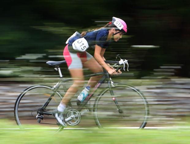 Atleta de Iguaba Grande no Rio desponta no ciclismo das Olimpíadas Escolares (Foto: Andre Mourao/AGIF/COB)