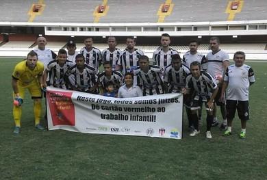 Pantera vence a primeira partida na segundinha (Foto: Divulgação/ São Raimundo F.C.)