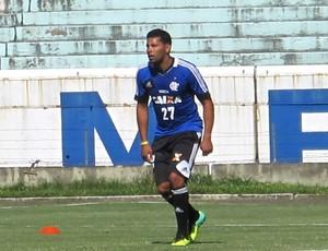 Andre Santos Flamengo (Foto: Richard Souza)