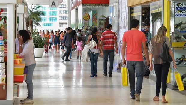 Consumo dos brasileiros ; varejo ; compras ;  (Foto: Agência Brasil/Arquivo)
