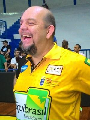 Spencer Lee treinador Rio do Sul Vôlei (Foto: Lucas Papel)