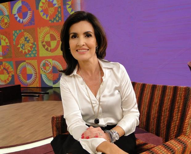 Fátima Bernardes quer saber opinião sobre crianças com necessidades especiais (Foto: Encontro com Fátima Bernardes/TV Globo)