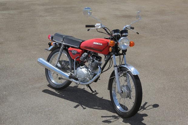 Honda CG 125 1976 (Foto: Divulgação)