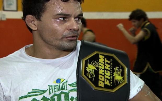 Newton Cachorrão MMA Sergipe (Foto: Reprodução/TV Sergipe)
