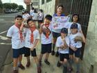 Crianças se unem e arrecadam itens para doação em 6 cidades da região