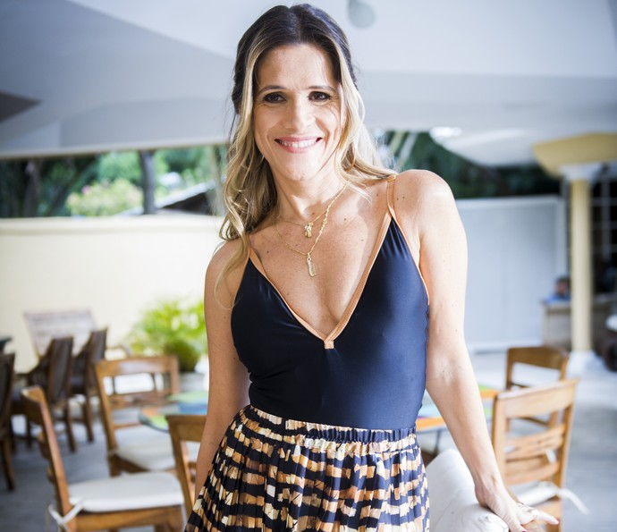 Ingrid Guimarães como a Marlene de 'Chapa Quente' (Foto: João Miguel Júnior/TV Globo)
