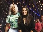 Anitta recebe Ludmilla em programa de TV e acaba com rumores de briga