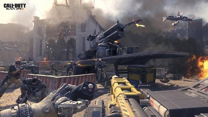 Os combates multiplayer prometem ser mais frenéticos (Foto: Divulgação/Activision)